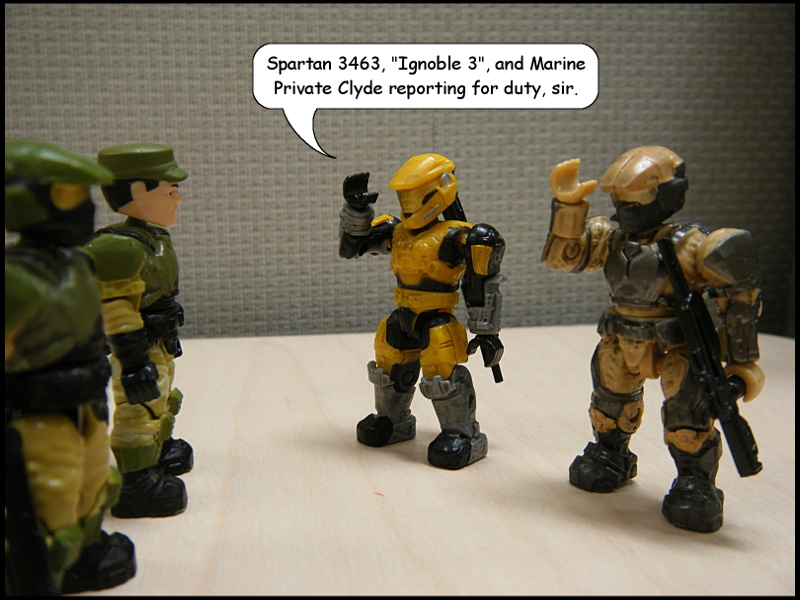 Reporting for… NOPE!